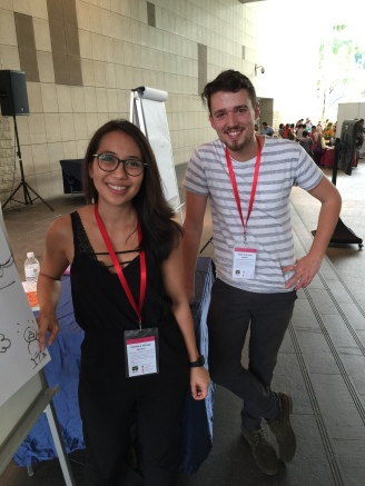 Soefara Jafney and Gabriel Evans, illustrators post-duel