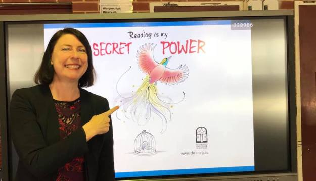 Reading is my secret power Book Week pic